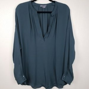 Vince Tops - Vince popover long sleeve tunic blouse100% silk